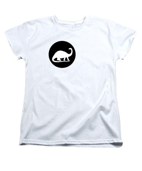 Brontosaurus Women's T-Shirt (Standard Cut) by Mordax Furittus