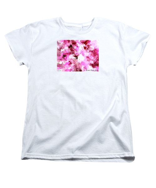 Women's T-Shirt (Standard Cut) featuring the painting Chillin It by Holley Jacobs