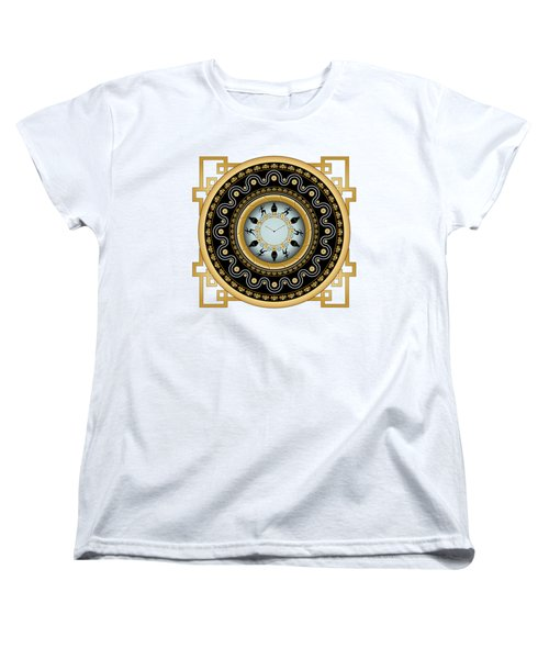 Circularium No 2653 Women's T-Shirt (Standard Cut) by Alan Bennington