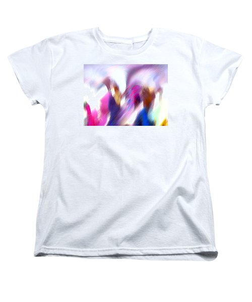 Color Dance Women's T-Shirt (Standard Cut)