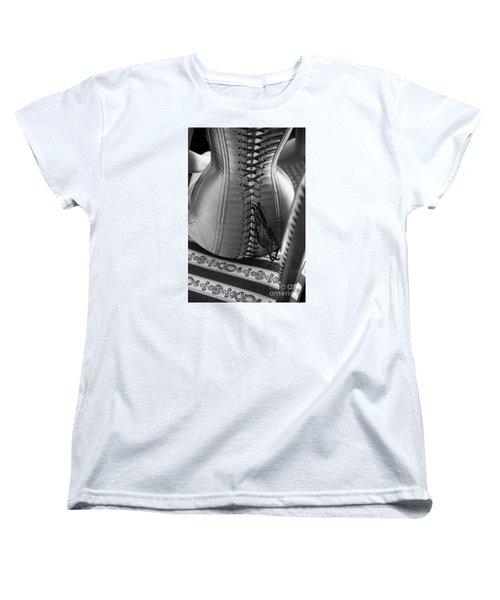 Women's T-Shirt (Standard Cut) featuring the photograph Corset #2278 by Andrey  Godyaykin