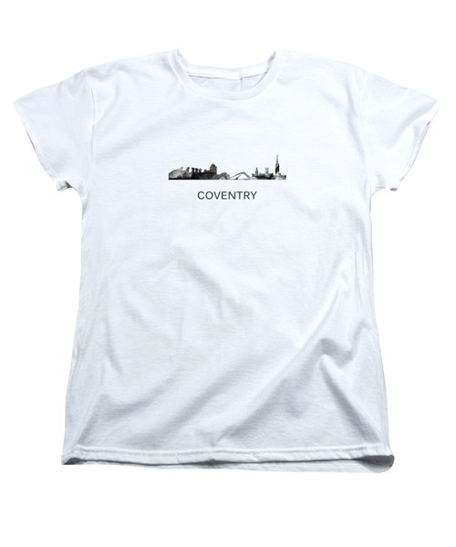 Coventry England Skyline Women's T-Shirt (Standard Fit)
