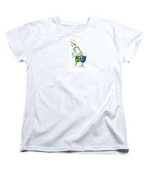 Dancing Drinks Women's T-Shirt (Standard Cut) by Peter Lakomy