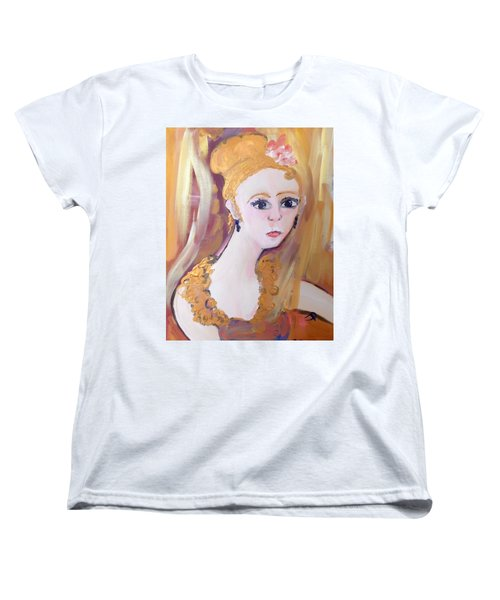 Deep In Thought  Women's T-Shirt (Standard Cut) by Judith Desrosiers
