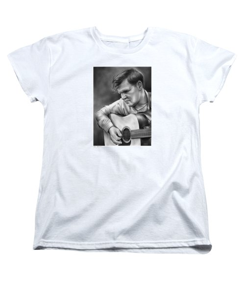 Doc Watson Women's T-Shirt (Standard Cut) by Greg Joens