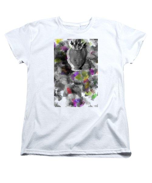 Exploding Head Women's T-Shirt (Standard Cut) by Michal Boubin