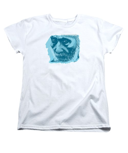 Eyes Women's T-Shirt (Standard Cut) by Antonio Romero