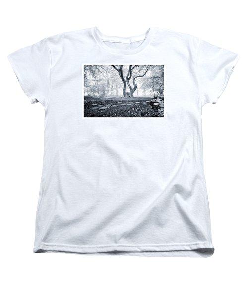 Fairy Tree Women's T-Shirt (Standard Cut) by Keith Elliott