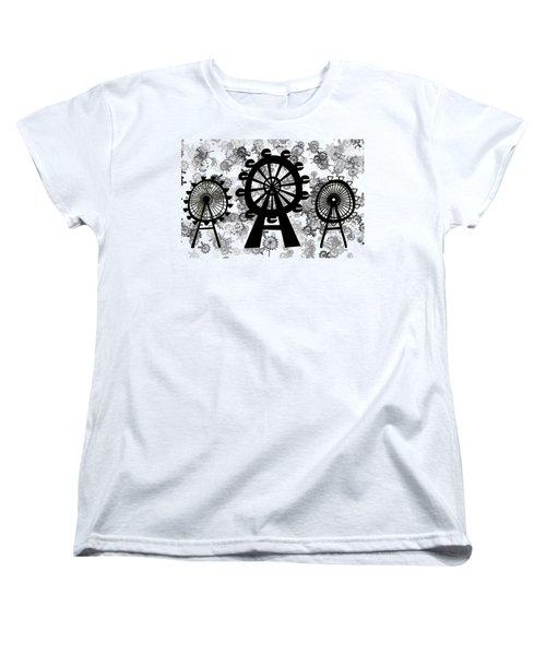 Ferris Wheel - London Eye Women's T-Shirt (Standard Cut)