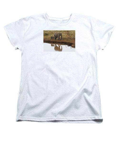 Women's T-Shirt (Standard Cut) featuring the photograph Follow Me by Gary Hall