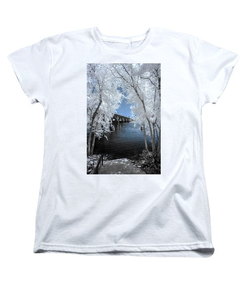 Gervais Street Bridge In Ir Women's T-Shirt (Standard Cut) by Charles Hite