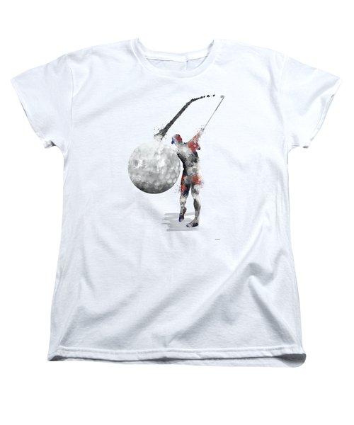 Golf Player Women's T-Shirt (Standard Cut)