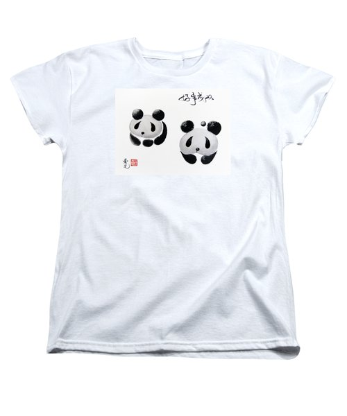 Good Things Come In Pairs Women's T-Shirt (Standard Cut) by Oiyee At Oystudio