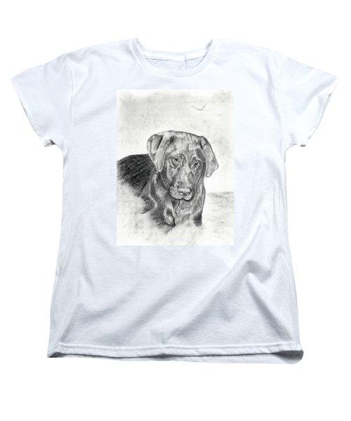 Women's T-Shirt (Standard Cut) featuring the drawing Gozar by Mayhem Mediums
