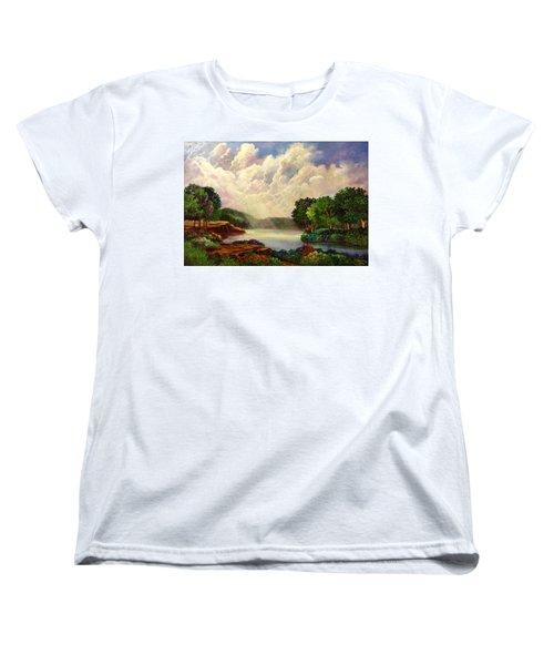 His Divine Creation Women's T-Shirt (Standard Cut) by Randy Burns