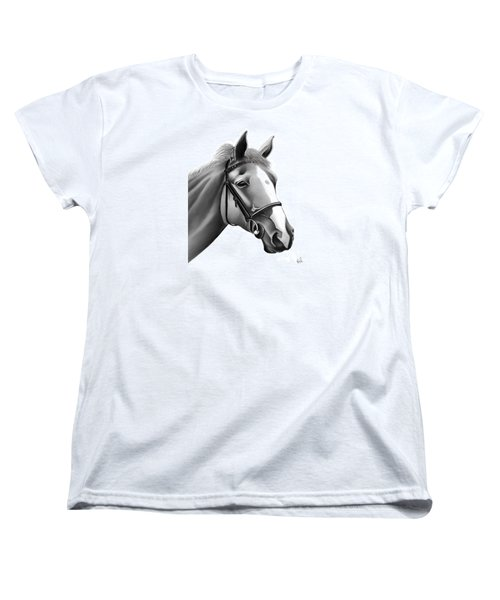 Horse Women's T-Shirt (Standard Cut) by Rand Herron