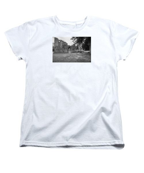Inchmahome Priory Women's T-Shirt (Standard Cut) by Jeremy Lavender Photography