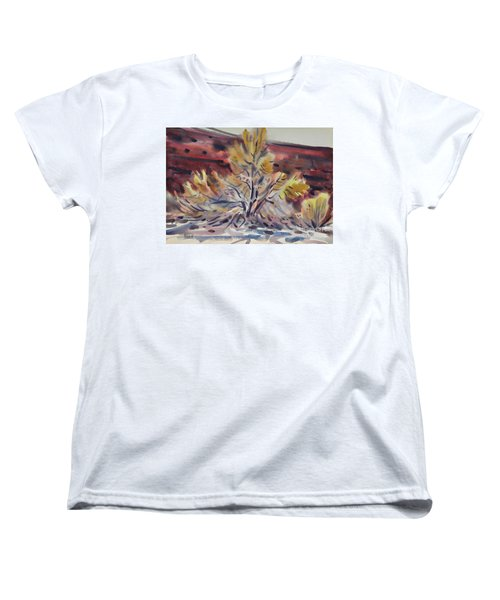 Ironwood Women's T-Shirt (Standard Cut) by Donald Maier