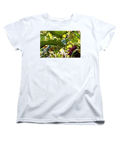 Women's T-Shirt (Standard Cut) featuring the photograph Jungle Jive by Mindy Newman