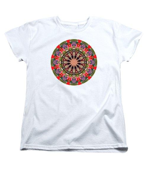 Women's T-Shirt (Standard Cut) featuring the photograph Kaleidos - Ptown02a by Jack Torcello