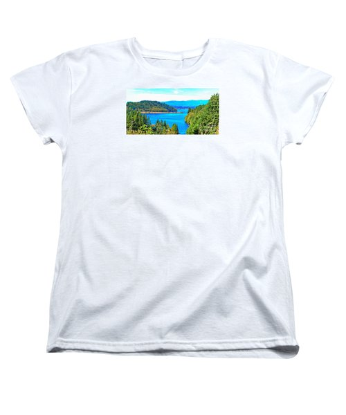 Lake Mayfield Women's T-Shirt (Standard Cut) by Ansel Price
