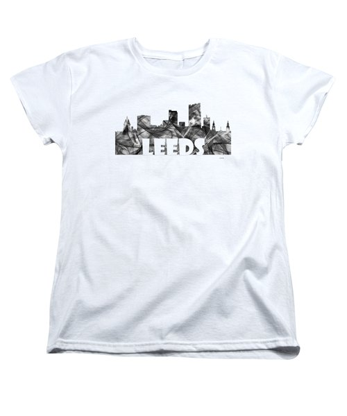 Leeds England Skyline Women's T-Shirt (Standard Fit)