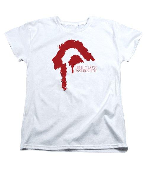 Liberty Lions Logo Women's T-Shirt (Standard Cut) by Ryan Anderson