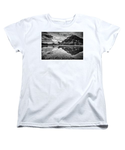 Women's T-Shirt (Standard Cut) featuring the photograph Light On The Peak by Jon Glaser