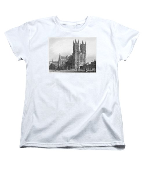 London: Westminster Abbey Women's T-Shirt (Standard Cut)