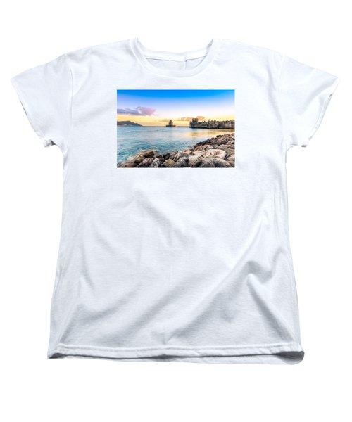 Methoni's Castle / Greece. Women's T-Shirt (Standard Cut) by Stavros Argyropoulos