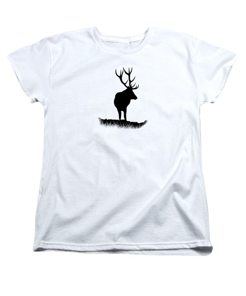 Monarch Of The Park  Women's T-Shirt (Standard Cut) by Linsey Williams