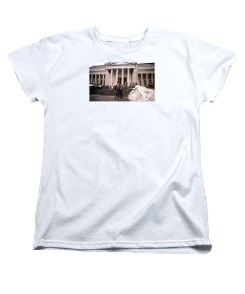 Moscow Consert Hall Women's T-Shirt (Standard Cut) by Ted Pollard