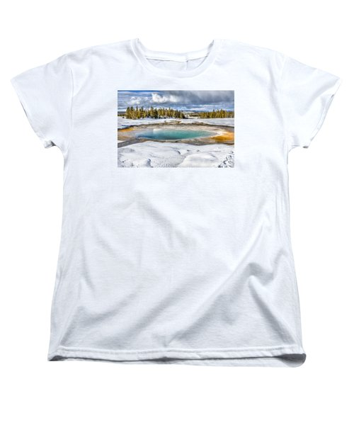Nature's Painting Women's T-Shirt (Standard Cut) by Yeates Photography