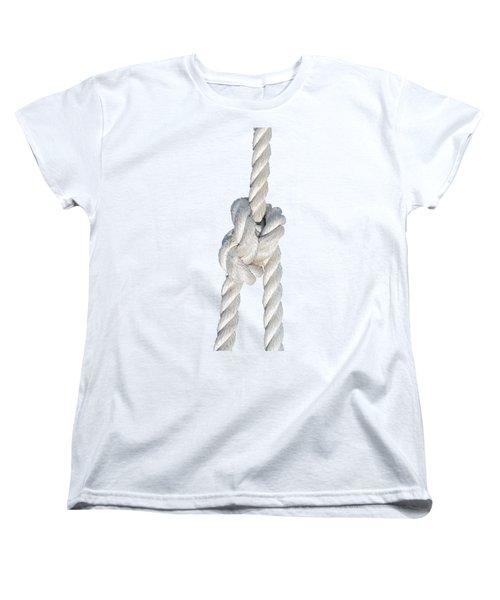 Women's T-Shirt (Standard Cut) featuring the photograph Nautical Knots by George Atsametakis