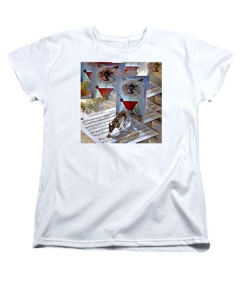 New Upload Women's T-Shirt (Standard Cut) by Phyllis Kaltenbach