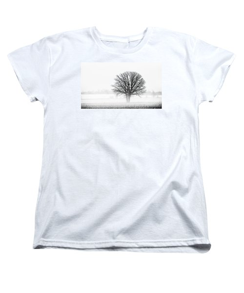 Women's T-Shirt (Standard Cut) featuring the photograph One... by Nina Stavlund