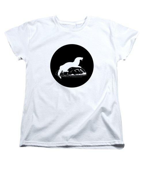 Otter Women's T-Shirt (Standard Cut) by Mordax Furittus