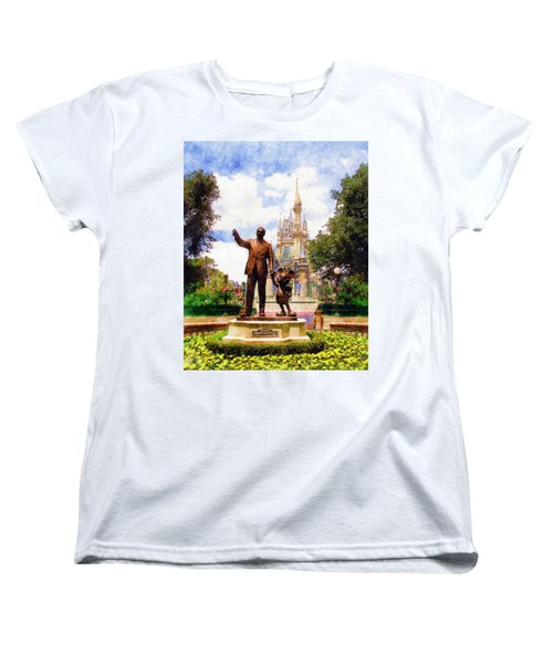 Women's T-Shirt (Standard Cut) featuring the digital art Partners by Sandy MacGowan