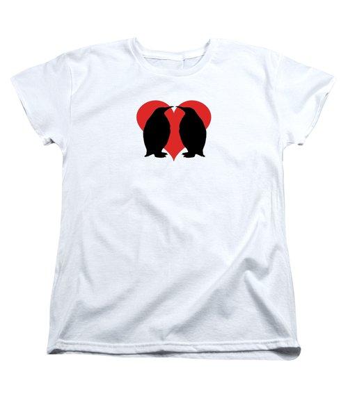 Penguins Women's T-Shirt (Standard Cut) by Mordax Furittus