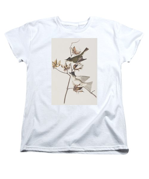 Pewit Flycatcher Women's T-Shirt (Standard Cut) by John James Audubon