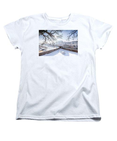 Salzburg Winter Dreams Women's T-Shirt (Standard Cut) by JR Photography