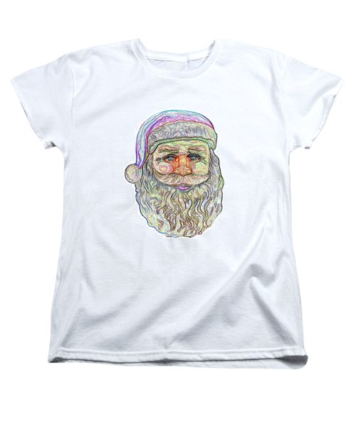 Santa Women's T-Shirt (Standard Cut) by Ludwig Keck