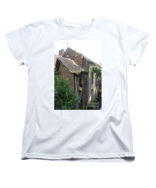 Seen Better Days Women's T-Shirt (Standard Cut) by Therese Alcorn