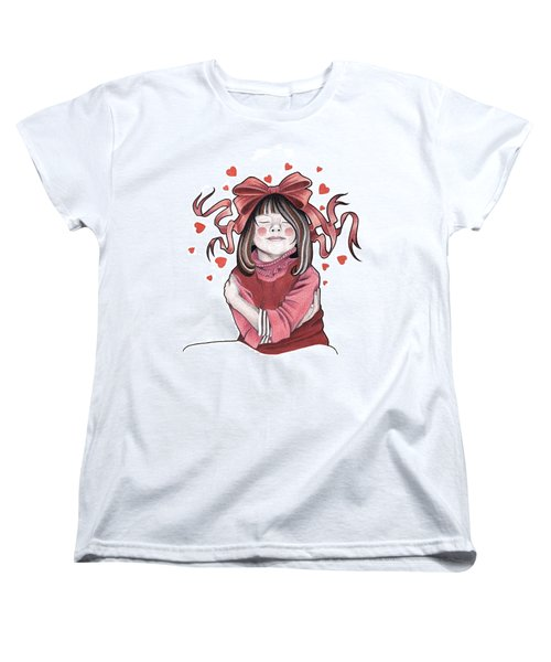 Selfie Women's T-Shirt (Standard Cut) by Deadcharming Art