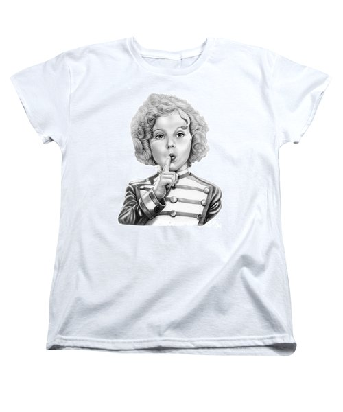 Shirley Temple Women's T-Shirt (Standard Cut) by Murphy Elliott