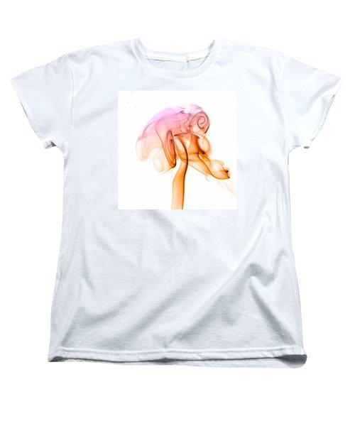 Women's T-Shirt (Standard Cut) featuring the photograph smoke VIII c by Joerg Lingnau