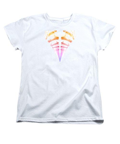 Women's T-Shirt (Standard Cut) featuring the photograph smoke XXXIV by Joerg Lingnau