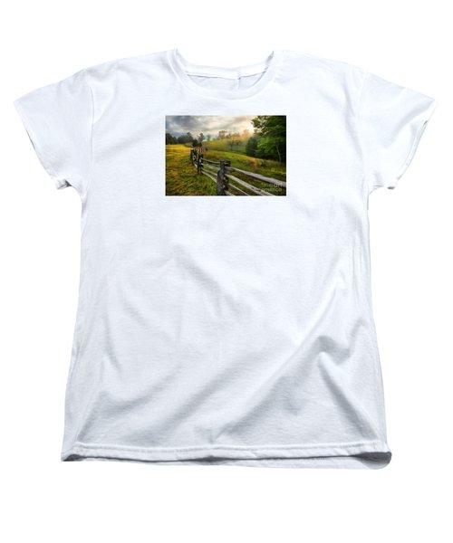 Splash Of Morning Light Ap Women's T-Shirt (Standard Cut) by Dan Carmichael