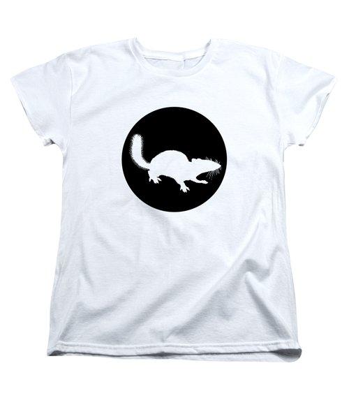 Squirrel Women's T-Shirt (Standard Cut) by Mordax Furittus