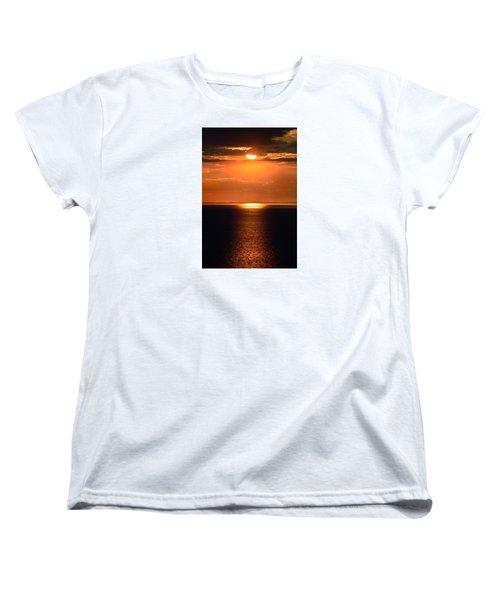 Sun Down Women's T-Shirt (Standard Cut) by Terence Davis